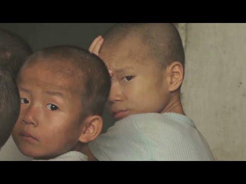North Korea's starving children