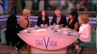 Belle Knox on The View talk show
