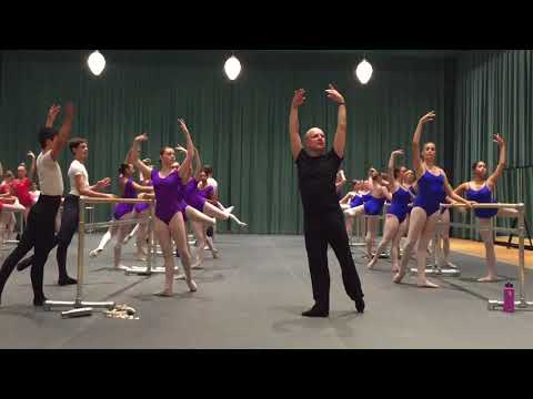 Yuri Fateev's Master Class for  American Ballet Theatre  Wil
