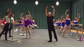 Yuri Fateev's Master Class for  American Ballet Theatre  William J. Gillespie School @SCFTA 10.13.17