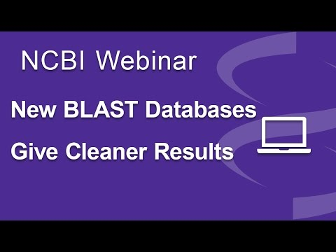 New BLAST Databases Give Cleaner Results
