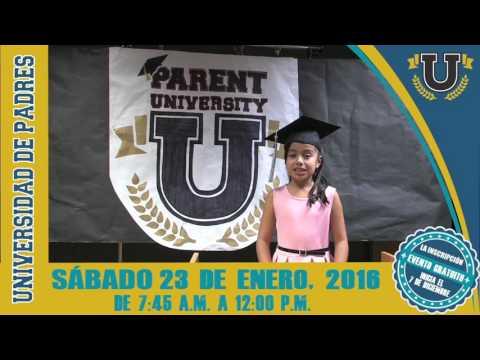 WESD Parent University 2016 Professor Jazmin (Spanish)