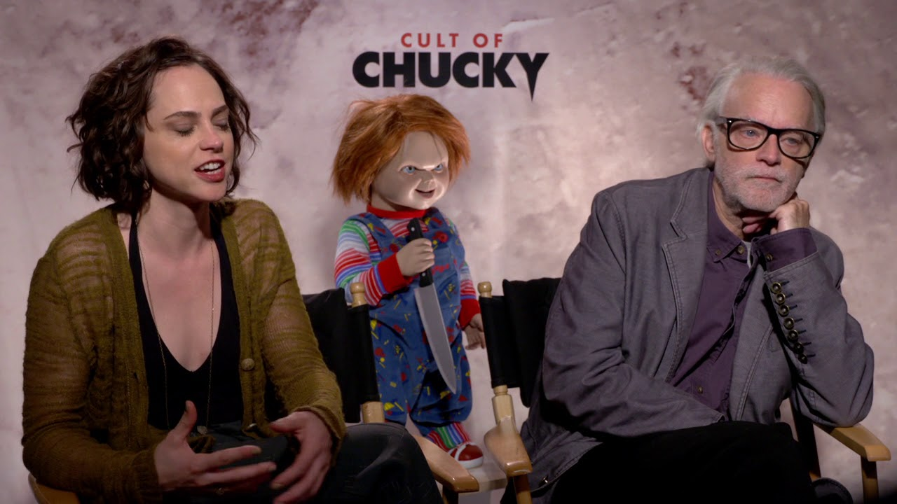 cult of chucky itw fiona dourif and brad dourif official