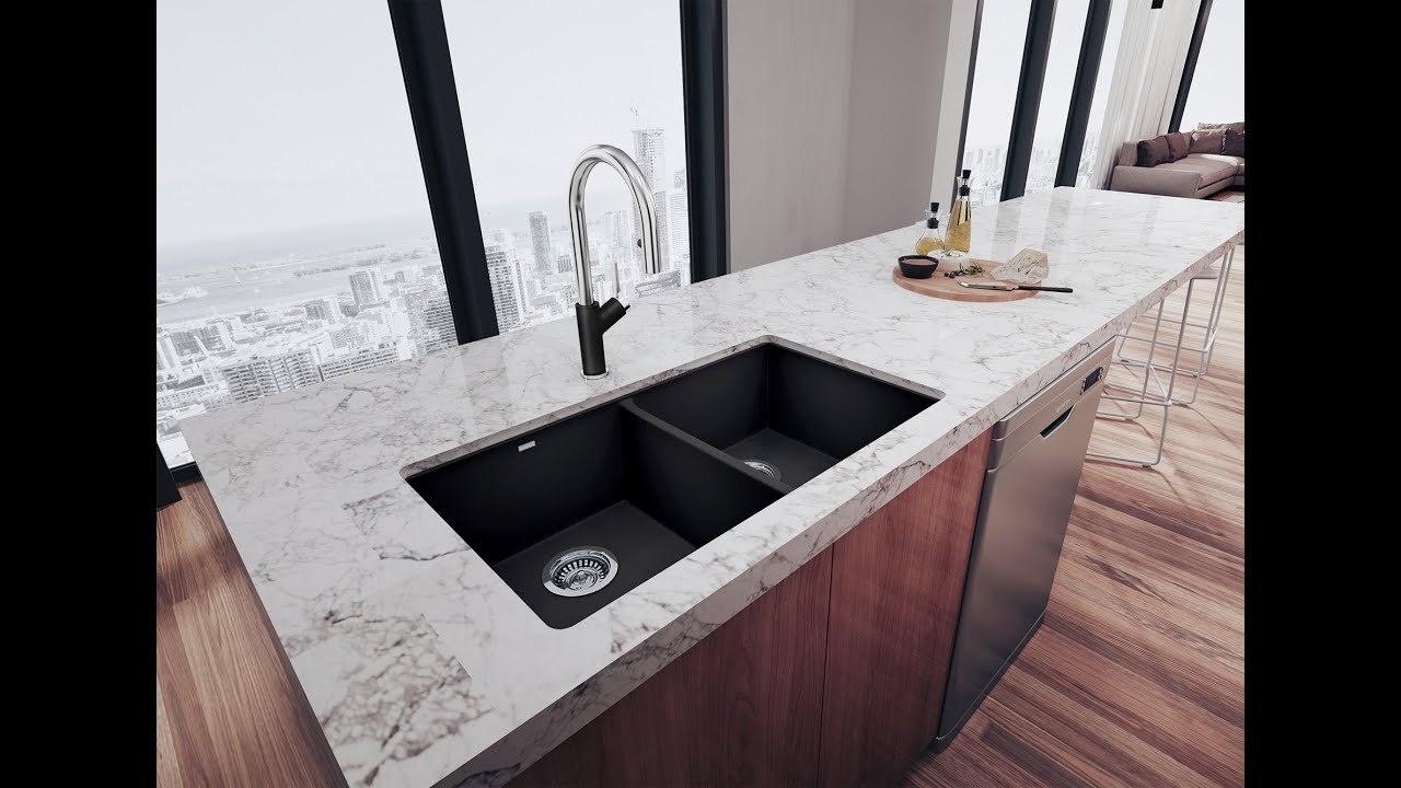 down kitchen blanco reviews faucet single improvement pull handle meridian pdx home wayfair