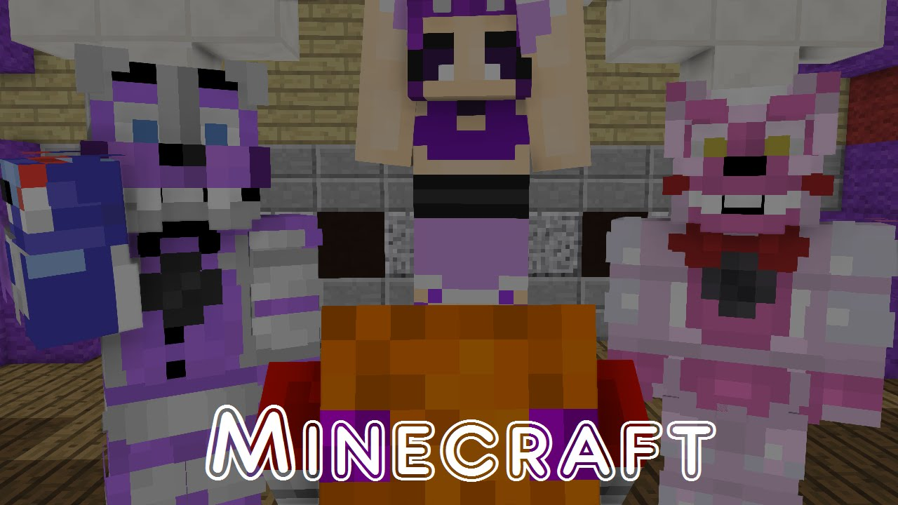 Minecraft Map Tour Fnaf Sister Location Project Info