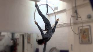 Воздушное кольцо. Aerial lyra tutorial. Урок 1