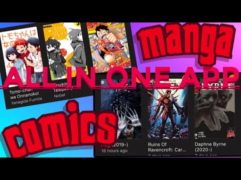 How To Read Comics/manga On Your Mobile Phone | IOS And ANDROID