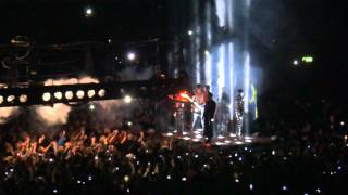 "Rammstein enter stage + ""Sonne"" live in Stockholm 2012"