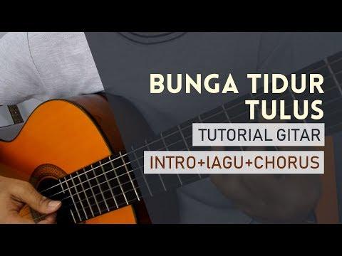 Bunga Tidur - Tulus (Gitar Tutorial Mudah) (Intro+Chorus)