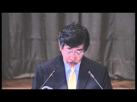国際司法裁判所「南極捕鯨」訴訟:日本政府代理人・鶴岡公二外務審議官による最終申立て ICJ: Whaling issue - Final submissions by Japan
