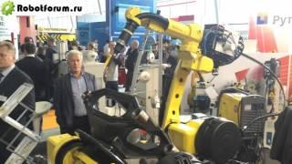 Обзор выставки Weldex 2015 - промышленные роботы