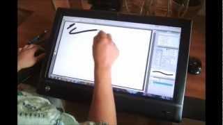 Review: HP TouchSmart 610Q as Art Tool