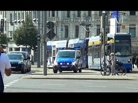 Leipzig Polizei Mercedes Vito Streifenwagen L 10-07 [22.8.2015]