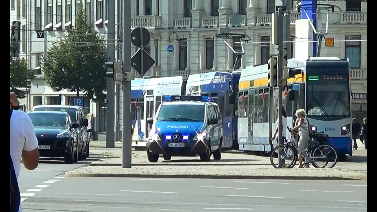 leipzig polizei mercedes vito streifenwagen l 10 07 22 youtube. Black Bedroom Furniture Sets. Home Design Ideas