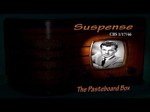 "Suspense ""The Pasteboard Box"" Joseph Cotten CBS 1/17/46 Oldtime Radio Drama Mystery"