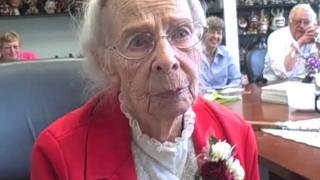 Emma Bush celebrates her 96th birthday