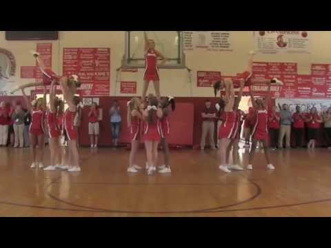 Janieces first prep rally at West Marion High School in Foxworth Ms 8 22 2014