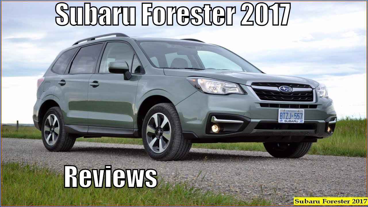 Subaru Forester 2017 Xt Touring Reviews And Specs