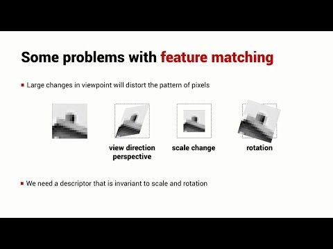 Scale Invariant Corner Features (SIFT) | Lesson | Robot Academy