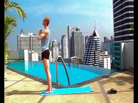 free 10 minute yoga sun salutations flow  youtube