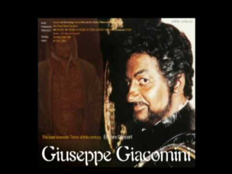 Giacomini sings 2 arias from Cavalleria Rusticana