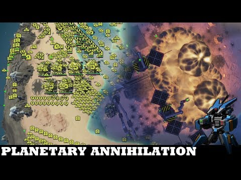 How not to play part 2of2 // Planetary Annihilation: Titans