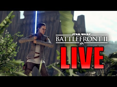 I WILL SHOW YOU THE DARK SIDE! Star Wars Battlefront 2 Live Stream