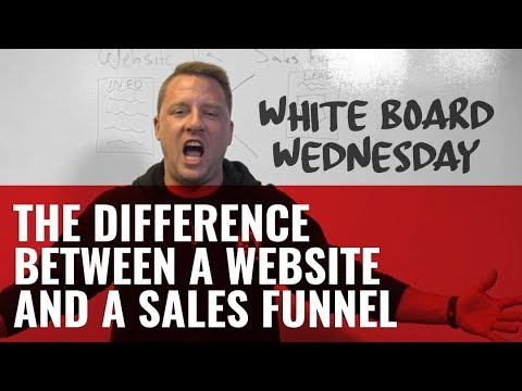 The Difference Between a Website and a Sales Funnel
