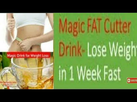 How to lose belly fat in 1 week without exercise at home fat cutter drink recipe in Hindi