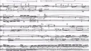 Sequenza XIII (chanson) for accordion - Luciano Berio - Score