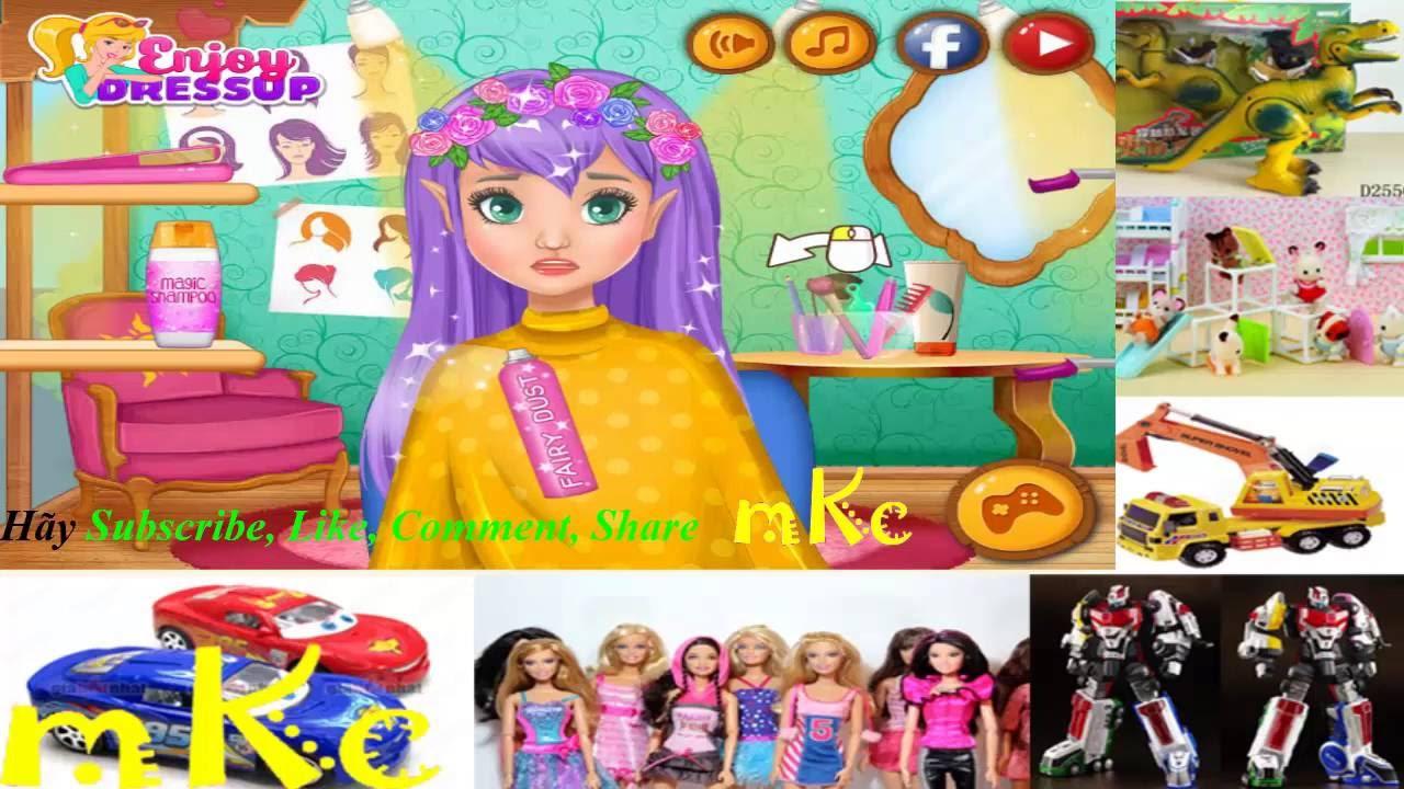 [MKC] Làm tóc cho Công chúa PONY – game thời trang – PRINCESS PONY – cartoon