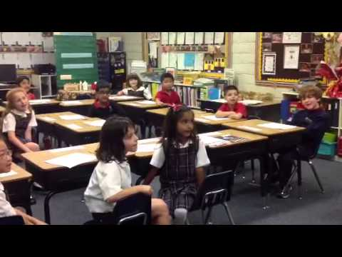 1st Graders Sing