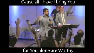 You Alone are Worthy -- Grace Church Nashville -- with Lyrics -- Lindell Cooley