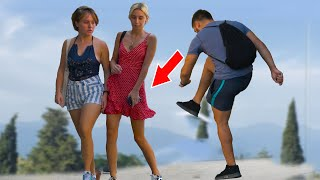 Fake Slap Prank  - Crazy guy on street prank #3