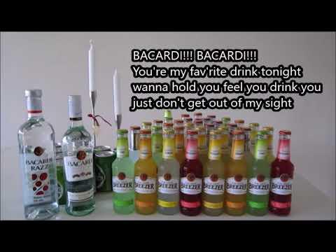 The Bacardi Song Lyrics - Johnny Fang