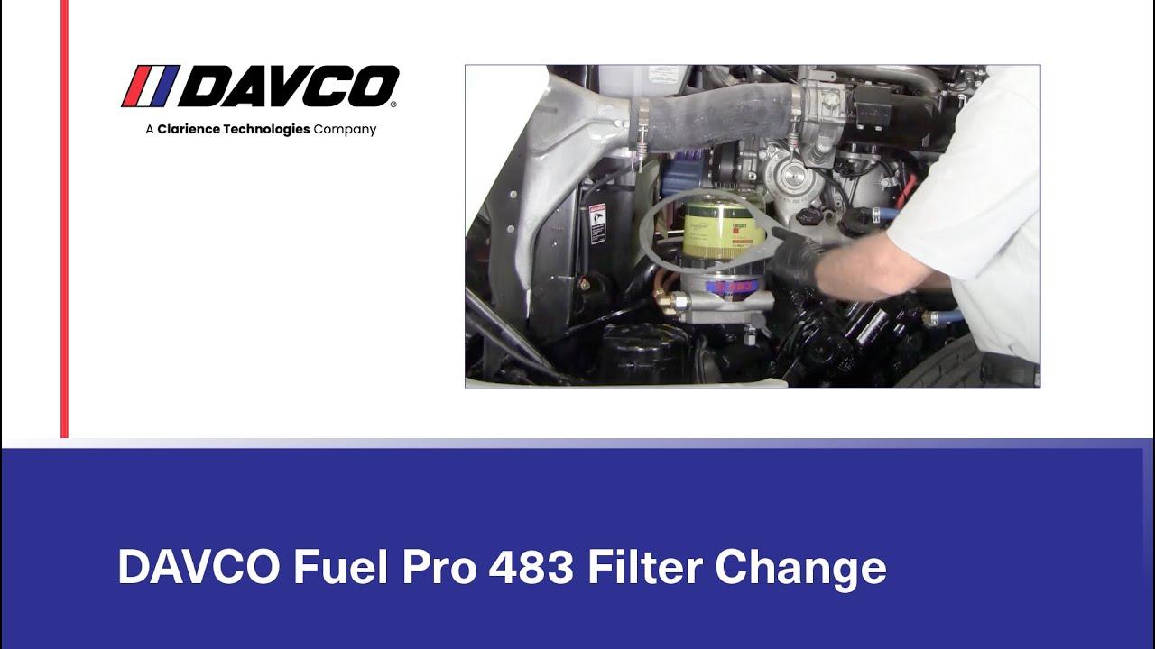 medium resolution of davco fuel filter housing