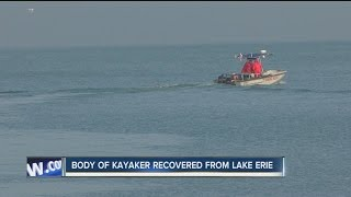 Missing kayaker found dead in Lake Erie
