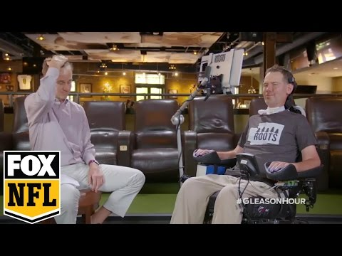 Steve Gleason takes over The Cooper Manning Hour | FOX NFL KICKOFF #MANNINGHOUR