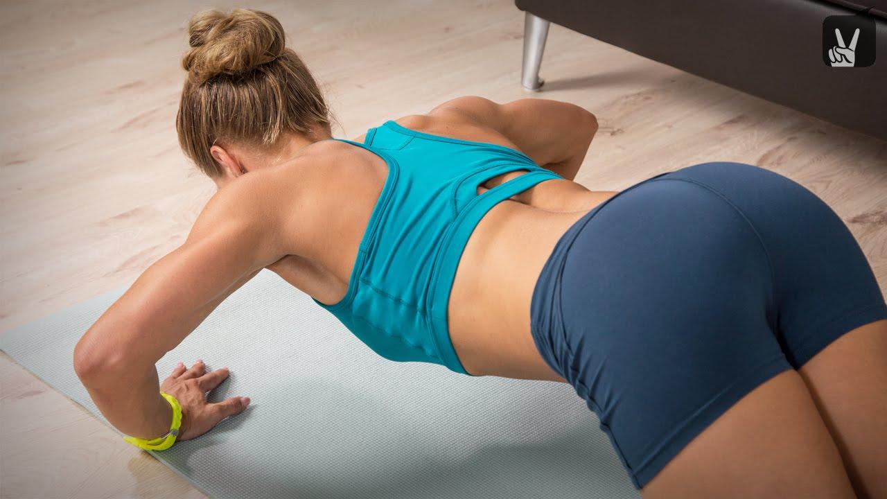 Fitness Quickie für Schulter und Arme: lange und schlanke Muskeln ...