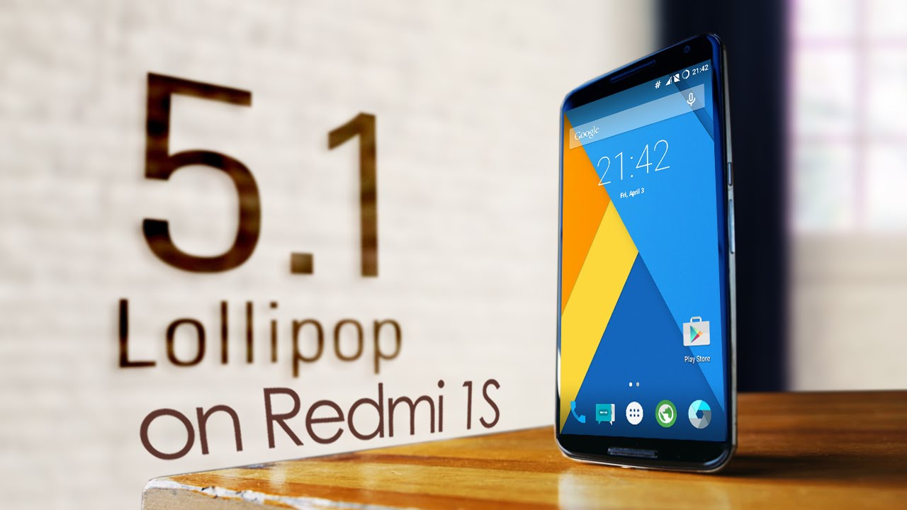 CM12 1 Android Lollipop 5 1 on Xiaomi Redmi 1S