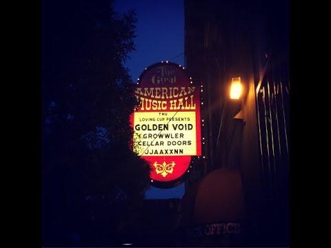 Live at Great American Music Hall, San Francisco CA