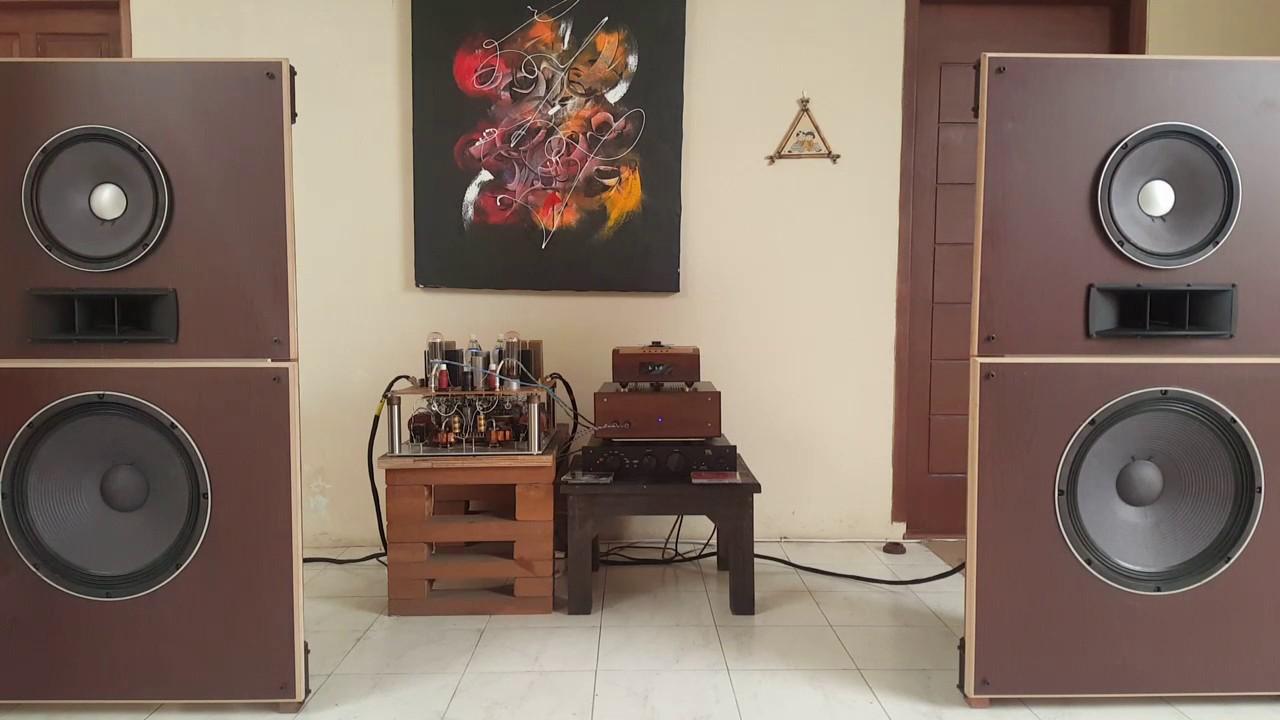 the DIY open baffle speakers 18