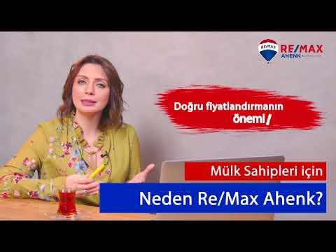 Sinem Özüçler Remax Ahenk 'ten Mülklerin Fiyatlandırıması
