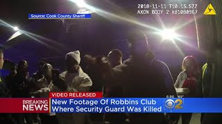 Video Released In Shooting Of Robbins Security Guard, Jemel Roberson