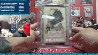 Super Break Box Breakers Ed. Layton Sports Cards Exclusive Case Break for Jason D - INSANITY!