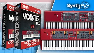 NORD STAGE 2 / 2 Ex MONSTER PACK Performed by S4K team ( space4keys keyboard solo )