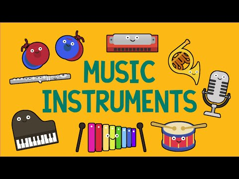 Music Instruments Song for Children 27 Instruments