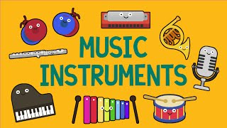 Music instruments song for children (27 instruments)