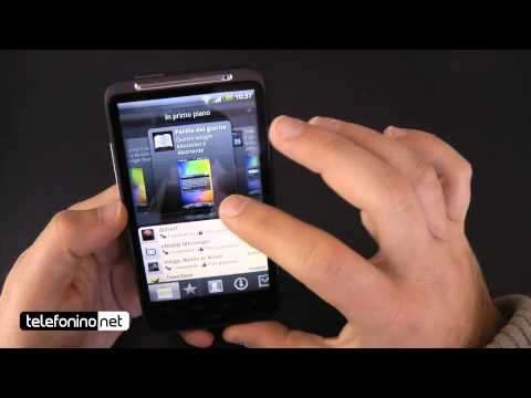 HTC Desire HD videoreview da Telefonino.net