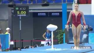 DUFOURNET Youna (FRA) – 2014 Artistic Worlds, Nanning (CHN) – Qualifications Vault
